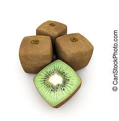 cubico, kiwi