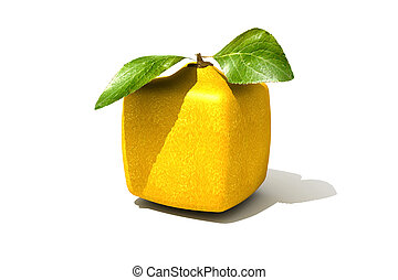 cubico, limone