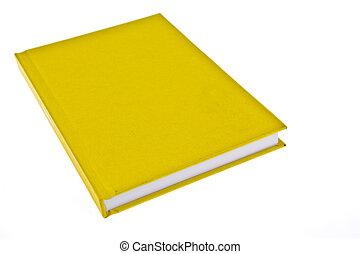 cubierta de libro, amarillo