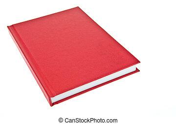 cubierta de libro, rojo