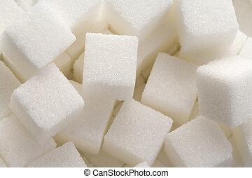cubo, azúcar