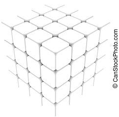 cubo blanco
