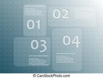 cubo branco, infographic