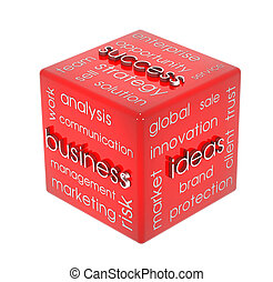 cubo, empresa / negocio