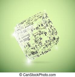 cubo, físico