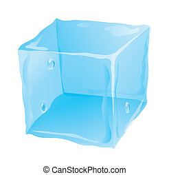 cubo, ghiaccio