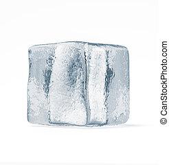 cubo, hielo