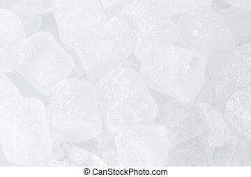 cubos, gelo, fundo