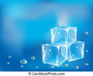 cubos, gelo