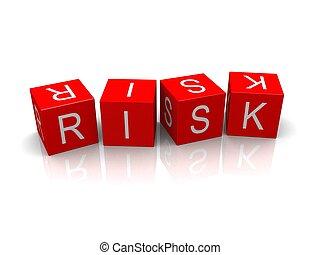 cubos, riesgo