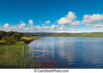 Lake Huillinco at Cucao, Chiloe Island