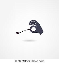 cuchara, icono