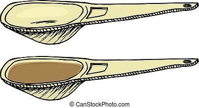 cuchara medir