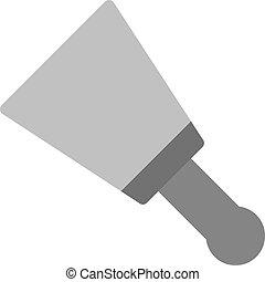 cuchillo, masilla