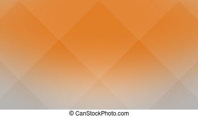 cuci, orange-gray, fondo, cubico