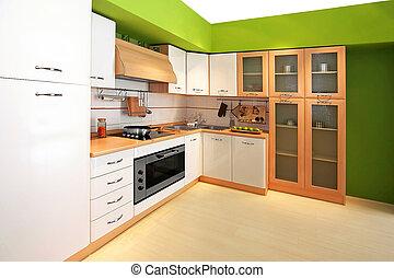 cucina, 3, verde
