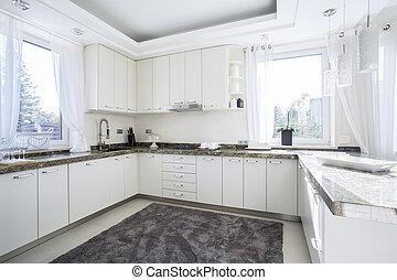 cucina, luminoso, spazioso