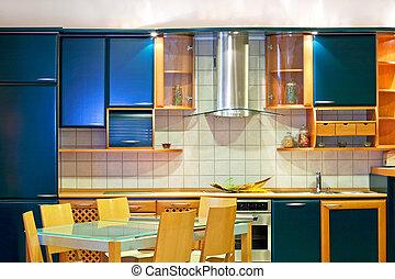 cucina, moderno