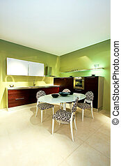cucina, verde