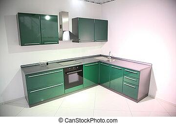 cucina verde