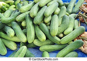 cucumber at street food