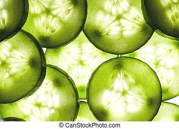 Cucumber background - Fresh cucumber background