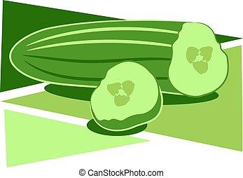 Cucumber design