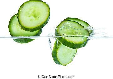 cucumber in water