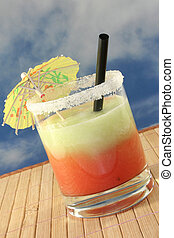 Cucumber Melon Smoothie - a glass of cucumber melon smoothie...
