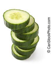 Cucumber pile