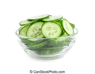 cucumber slices salad