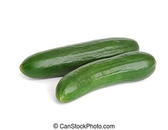 Cucumbers - Isolated cucumbers