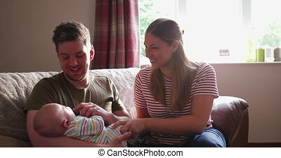 Cuddles From Mum and Dad - Parents of a newborn baby boy...