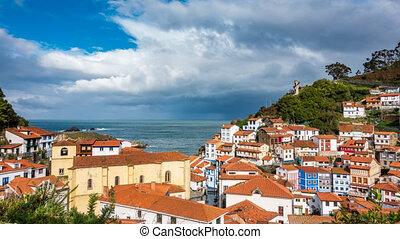 Cudillero fishing village time lapse in Asturias - Hillside ...