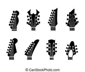 cuello guitarra