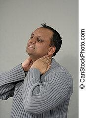 cuello, masaje