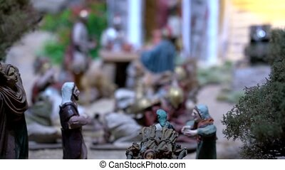 Largest animated nativity scene in South America. - Cuenca,...
