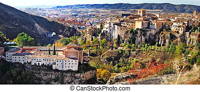 Cuenca, Spain - panorama of Cuenca, central Spain