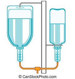 cuentagotas, intravenoso
