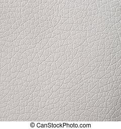 cuero, blanco, textura