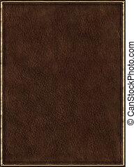 cuero, cubierta de libro