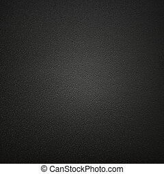 cuero, plano de fondo, negro, o, textura