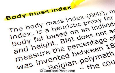 cuerpo, -, bmi, masa, índice