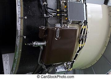 cuerpo, tanque, proceso, avión, líquidos, motor