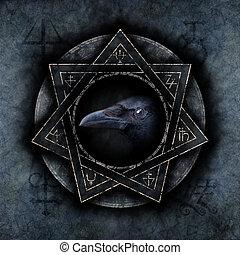cuervo, magia