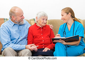cuidado edad avanzada