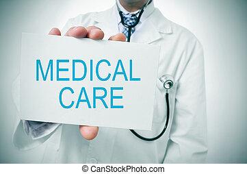 cuidado médico