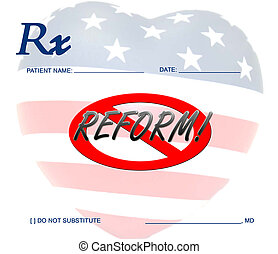 cuidado, saúde, contra, reform