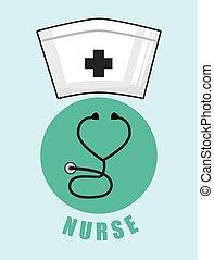 cuidado saúde, desenho