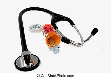 cuidado saúde, faz, aquilo, necessidade, um, rx